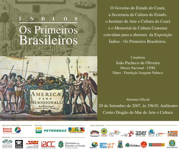 Exposição Índios: Os Primeiros Brasileiros